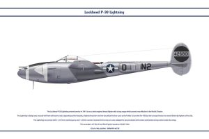 P38J USAAF 383rd FS 1 by WS-Clave