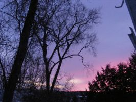 feb 23rd sunset 2 by BlueIvyViolet