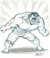 Hulk Scream by tombancroft
