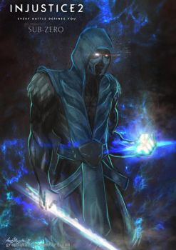 Injustice 2- Sub Zero by Grapiqkad