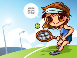 Mad in Tennis by marvels