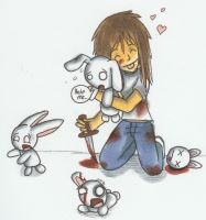 I luv Bunnies by TheAmused