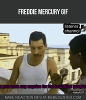 The Special Suprise GIF Freddie mercury by Sillyhatlovingbro