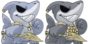 Shark NPCs by Mindmusic