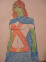 Young Justice: Miss Martian by ThisGirlLovesDinos