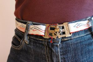 belt with doubleheaded dragons and knots 3 by were-were-wolfy