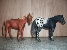 CollectA Appaloosa geldings by SyLoBe