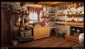 Tavern Kitchen by f4f