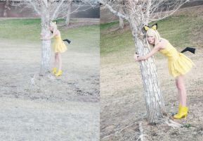 Pichu: Tree Hugging Fun by P0kyu