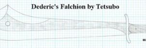 Dederic's Falchion by Ironstaff