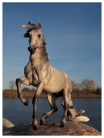 Breyer - Grey Guardian by The-Toy-Chest