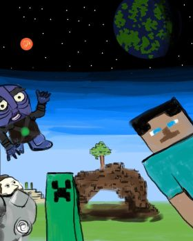 Mojang AB - PAX Competition by DarthBotto