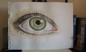 un-realistic eye by ToMetropolis