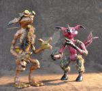 Pocket Goblins by Dragon-flame13