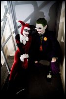 Harley Quinn and Mistah J. by Elemental-Sight