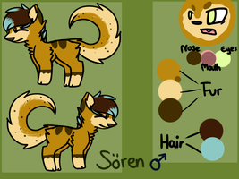 Soeren Ref Sheet! by koscha