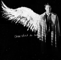 Choose What To Believe  - Cas by gaspaholic