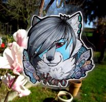 C: Badge Commission Akaro by LithCoir