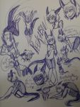 Peekaboo Sketch page 2 by hakura-lives