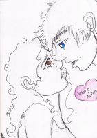 Aaron and Autumn for ClovistheNinjaKing by huntress-for-life