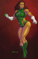 Green Lantern by hulkdaddyg