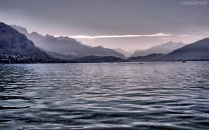 Lac d'Annecy by CharlieMerci