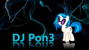 DJ Pon3 wallpaper by XVanilla-TwilightX
