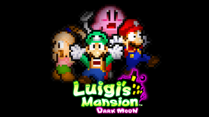 Tribute of Luigi's Mansion Dark Moon by KingAsylus91