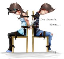 Our Cover's Blown by Cayys