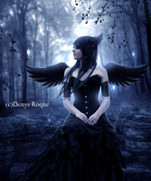 Tears Of an angel by DenysRoqueDesign
