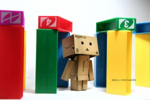 Danbo in Colour by kitinggiling