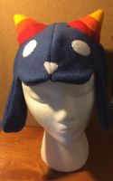 Nepeta Hat (front view) by Angrykarkat25