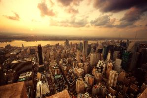Top of the Empire State III by martinasdf
