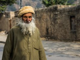 Santa In Pakistan by InayatShah