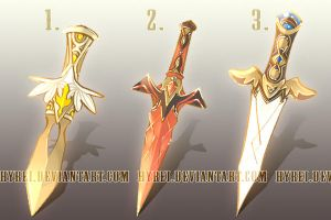 Set Price $10 : Weapon Adopt Set 9 [CLOSED] by HyRei