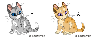 Kits auctions CLOSED by MilkaAdoptions
