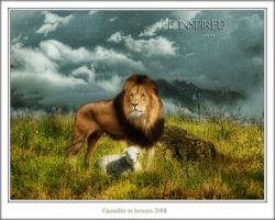 The Lion and the Lamb by JennBowers
