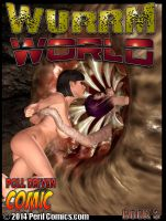 WURRM WORLD 3 ON SALE NOW! by PerilComics
