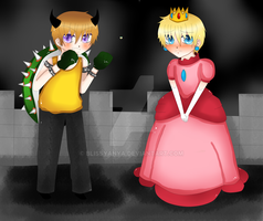 1p HRE and 2p HRE: Mario by Blissyanya