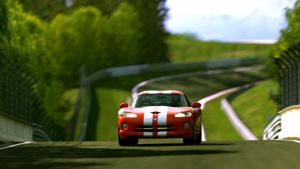 Viper GTS attacking green hell by MercilessOne