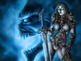 Death Knight by Sem-Jaza