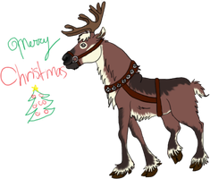 Reindeer Header by Turquoise-Lupine
