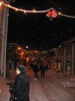 Old Porvoo's Winterstreets by melitooh