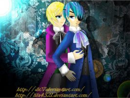 Collab Alois and Ciel by DI07