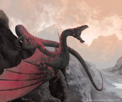 Nether Wyrm by boscopenciller