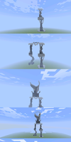 MineCraft Grievous by WheatPodlaska