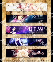 UTW Banner Showcase by balancekanon