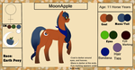 MoonApple {Reference Sheet+ Bio} by ScarletsFeed
