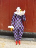 'Leaning Harlequin', Picasso by iamwinterborn