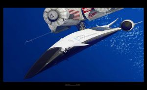 Snowgoose spaceplane 1 by Alex-Brady-TAD